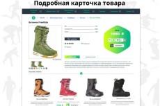 Ручное наполнение интернет-магазина товарами 12 - kwork.ru