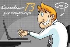 Профессиональное ТЗ для написания информационной статьи 21 - kwork.ru