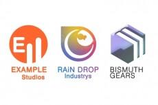 Логотипы, в программе cinema4D и Photoshop 37 - kwork.ru