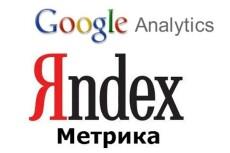 Готов вставить код Яндекс Метрики на сайт 21 - kwork.ru