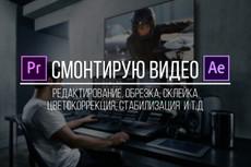 Монтаж и обработка вашего видео. Цветокоррекция 22 - kwork.ru