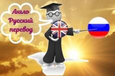 Перевод текстов с Английского языка на Русский 23 - kwork.ru