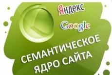 Соберу семантическое ядро для сайта 17 - kwork.ru