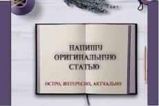 Напишу текст любой сложности, в любом стиле 11 - kwork.ru