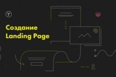 Сделаю лендинг пейдж под ключ 22 - kwork.ru