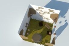 Нарисую 3D модель квартиры или дома по размерам 1 к 1 9 - kwork.ru
