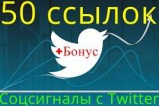 101 ссылка из социальной сети Twitter 5 - kwork.ru