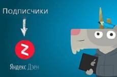 Привлеку 350 подписчиков на Ваш канал в Дзен + 100 like на статьи 10 - kwork.ru
