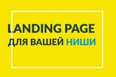 Создание одностраничника на Wordpress 316 - kwork.ru