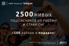 700 живых подписчиков или друзей на Ваш профиль +300 лайков 4 - kwork.ru