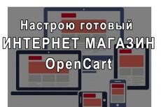 Перенос магазинов на Opencart 9 - kwork.ru