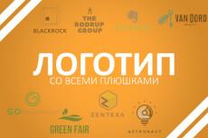 Крутой логотип за сутки 36 - kwork.ru