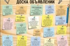 Размещу объявление по нужному вам городу, стране 25 - kwork.ru