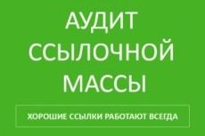 Ручной аудит сайта + план продвижения для выхода в ТОП Яндекс И Google 36 - kwork.ru