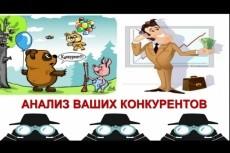 Анализ 5 конкурентов 21 - kwork.ru