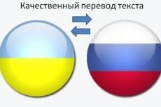 Переведу текст с русского на украинский язык и наоборот 11 - kwork.ru