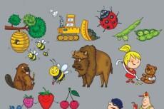 Нарисую детскую иллюстрацию 16 - kwork.ru