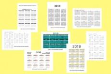 Сделаю календарь на 2018 год с вашей фотографией 5 - kwork.ru