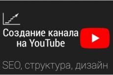 Консультации по работе с youtube 21 - kwork.ru