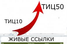 22 мощных ссылки с трастовых сайтов с высоким тиц 21 - kwork.ru