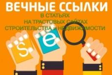 Размещение ссылок на трастовом ресурсе в тематической статье 24 - kwork.ru