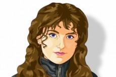 Создам стилизованный векторный портрет 21 - kwork.ru