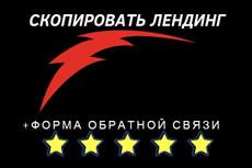 Скопирую любой landing page 40 - kwork.ru