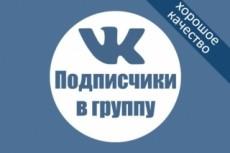 Раскрутка группы Вконтакте - плюс 600 живых подписчиков, продвижение 8 - kwork.ru