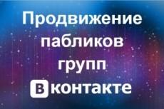500 живых участников в группу ВК, ВКонтакте, без ботов и программ 18 - kwork.ru