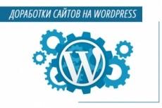 Доработаю сайт на wordpress 23 - kwork.ru