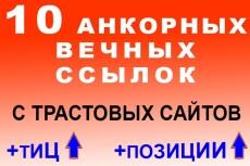 оставлю ссылки на ваш сайт в комментариях 8 - kwork.ru