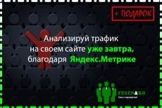 Установка и базовая настройка счетчика Яндекс Метрика 20 - kwork.ru