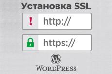 Wordpress установка, настройка, правки 23 - kwork.ru