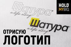 Отрисовка Логотипа в SVG 34 - kwork.ru