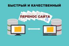 Перенесу ваш сайт на другой хостинг, VPS 6 - kwork.ru