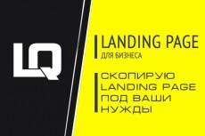 Лендинг под ключ (Посадочная страница - Landing page) 4 - kwork.ru