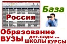 База прачечных и химчисток России 22 - kwork.ru