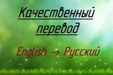 сделаю качественный перевод 4 - kwork.ru