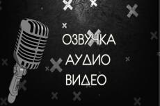 Озвучу ваш текст уникальным синтезатором речи , монтаж видео 4 - kwork.ru