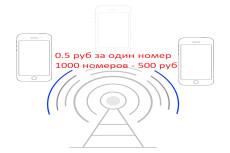 Базы данных и клиентов 13 - kwork.ru