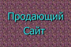 Создам одностраничный сайт на Wordpress 4 - kwork.ru
