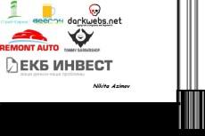 Создам два варианта логотипа 12 - kwork.ru