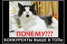Достану ключевые слова ваших самых успешных конкурентов 6 - kwork.ru