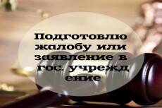 Подготовлю, а также проведу экспертизу любого договора 22 - kwork.ru