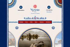 Красочный дизайн экрана вашего сайта, Landing Page 20 - kwork.ru