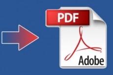 Перевод файлов в формат PDF с интерактивными элементами 16 - kwork.ru