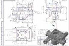 Сделаю модель в solidworks или NX, Компас 3D 35 - kwork.ru