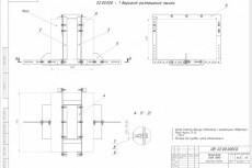 Оцифровка чертежей в формат dwg, начерчу по Вашим эскизам, моделлинг 26 - kwork.ru