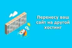 Перенесу сайт с одного хостинга на другой 21 - kwork.ru
