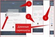 Скриншот всей страницы 20 - kwork.ru